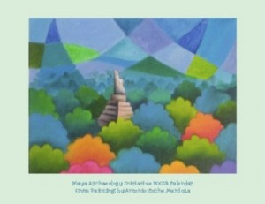 Maya Paintings by Antonio Coche Mendoza wall or desk calendar donation $30 or $20